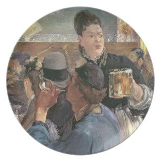 Manet | Corner of a Cafe-Concert, 1878-80 Melamine Plate