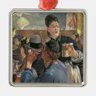 Manet | Corner of a Cafe-Concert, 1878-80 Metal Ornament