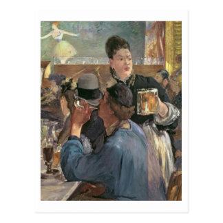 Manet | Corner of a Cafe-Concert, 1878-80 Postcard