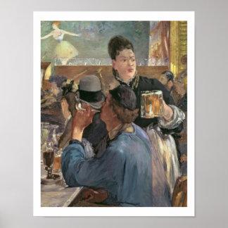 Manet | Corner of a Cafe-Concert, 1878-80 Poster