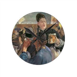 Manet | Corner of a Cafe-Concert, 1878-80 Round Clock
