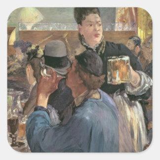 Manet | Corner of a Cafe-Concert, 1878-80 Square Sticker