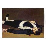 Manet Dead Matador Postcard Card