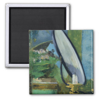 Manet | Detail from the painting 'Nana', 1877 2 Inch Square Magnet