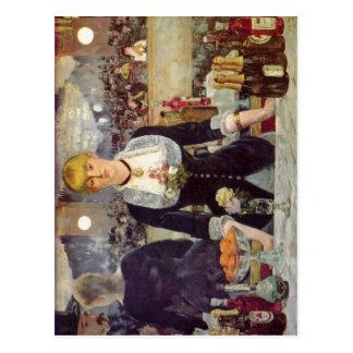 Manet, Edouard Bar in den Folies-Berg?re Espa?ol:  Postcard