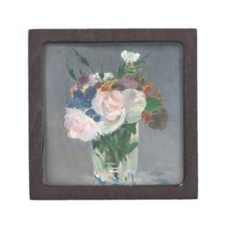 Manet | Flowers in a Crystal Vase, c.1882 Keepsake Box