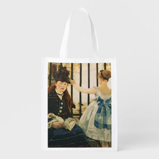 Manet | Gare St. Lazare, 1872-3 Grocery Bag