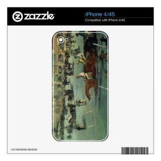 Manet | Horse Racing, 1872 Skin For iPhone 4S