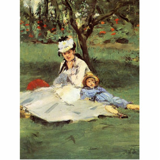 Manet Impressionist French Artwork Painting Statuette