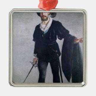 Manet | Jean Baptiste Faure  as Hamlet, 1877 Metal Ornament