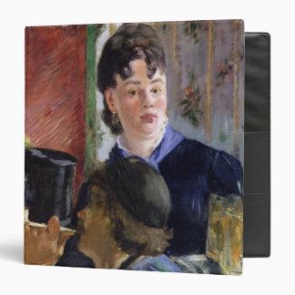 Manet | La Serveuse de Bocks, 1878-79 3 Ring Binder