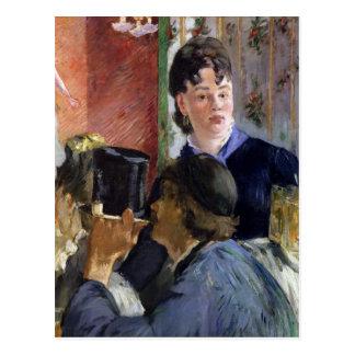 Manet | La Serveuse de Bocks, 1878-79 Postcard