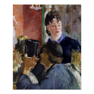 Manet | La Serveuse de Bocks, 1878-79 Poster