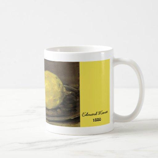 Manet Lemon Mug