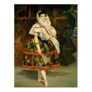 Manet | Lola de Valence, 1862 Postcard