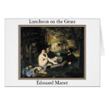 Manet - Luncheon On The Grass Greeting Cards