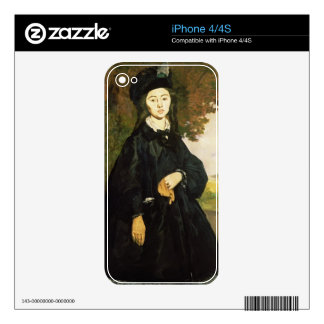 Manet | Madame Brunet Skin For The iPhone 4
