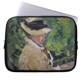 Manet   Madame Manet at Bellevue Laptop Sleeves