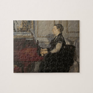 Manet | Madame Manet at the Piano, 1868 Jigsaw Puzzle