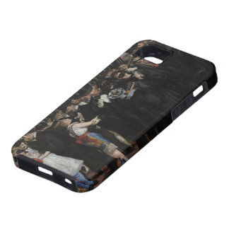 Manet | Masked Ball at the Opera, 1873 iPhone SE/5/5s Case