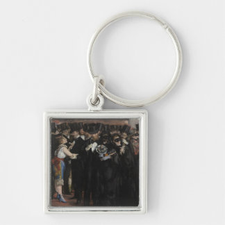 Manet | Masked Ball at the Opera, 1873 Keychain