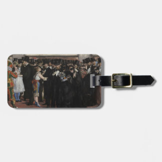 Manet | Masked Ball at the Opera, 1873 Luggage Tag