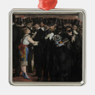 Manet   Masked Ball at the Opera, 1873 Metal Ornament