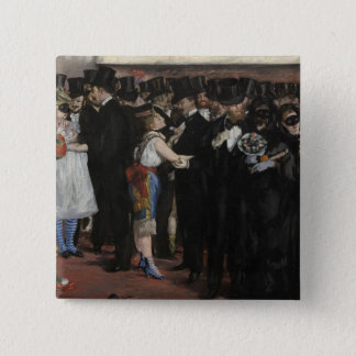 Manet | Masked Ball at the Opera, 1873 Pinback Button