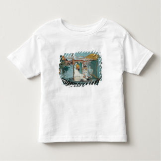 Manet | Monet in his Floating Studio, 1874 Toddler T-shirt