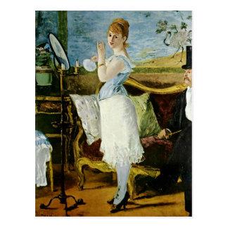 Manet Nana Fine Art Postcard
