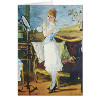 Manet Nana Note Card