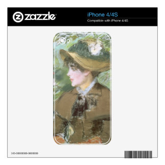 Manet | On the Bench, 1879 iPhone 4S Skin