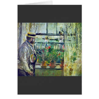 Manet on the Isle of Wight by Berthe Morisot Card