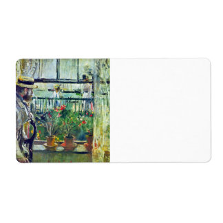 Manet on the Isle of Wight by Berthe Morisot Personalized Shipping Labels