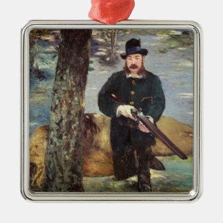 Manet | Pertuiset, Lion Hunter, 1881 Metal Ornament