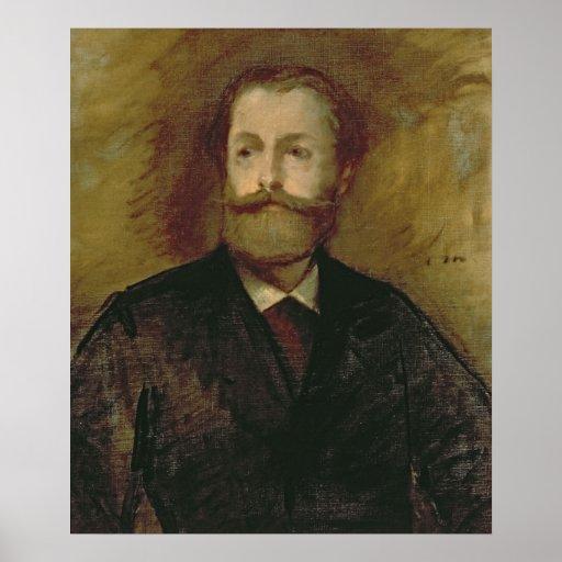 Manet | Portrait of Antonin Proust  c.1877-80 Poster