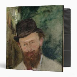 Manet | Portrait of Edouard Manet  c.1880 3 Ring Binder
