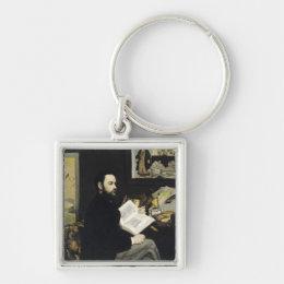 Manet | Portrait of Emile Zola  1868 Keychain
