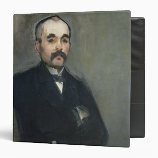 Manet | Portrait of Georges Clemenceau, 1879 Binder