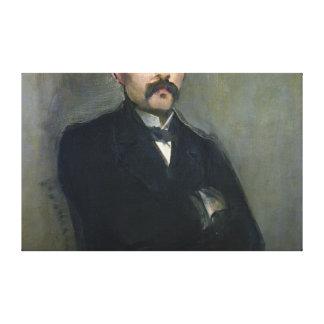 Manet | Portrait of Georges Clemenceau, 1879 Canvas Print