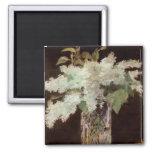 Manet's Bouquet of Lilacs - Magnet