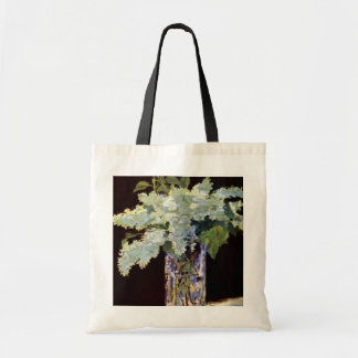 Manet Still Life White Lilacs Canvas Bag