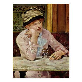 ¿Manet, técnica 1878 de Eduardo Pflaume um C. 1878 Postales