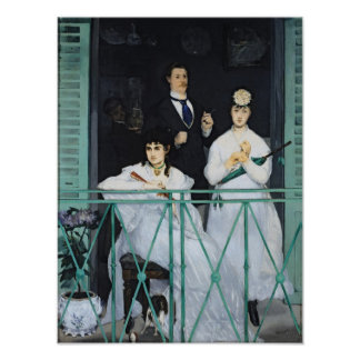 Manet | The Balcony, 1868-9 Poster