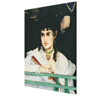 Manet | The Balcony, detail, 1868-9 Canvas Print