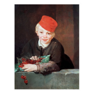 Manet | The Boy with the Cherries, 1859 Postcard