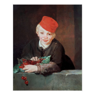 Manet | The Boy with the Cherries, 1859 Poster