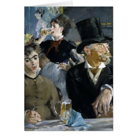 Manet: The Café-Concert, Card