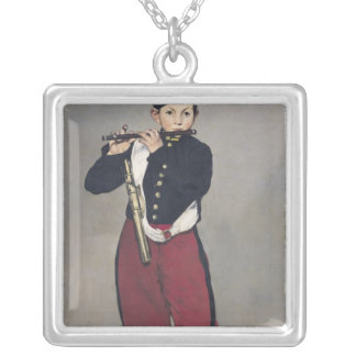 Manet | The Fifer, 1866 Silver Plated Necklace