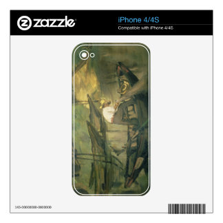 Manet | The Fisherman, c.1861 Decals For iPhone 4S